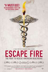 Image of Escape Fire movie poster